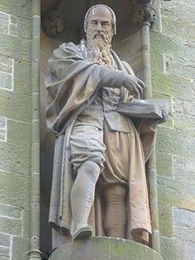 John Knox (c. 1514 – 24 November 1572) was a Scottish clergyman and a leader of the Protestant Reformation who brought reformation to the church in Scotland.