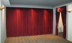 Basement Movie Cinema idea for a home theater room - Heimkino Systemdienste Movie Theater Rooms, Home Theater Setup, Best Home Theater, Home Theater Speakers, Home Theater Projectors, Home Theater Seating, Home Theater Design, Theatre, Cinema Room