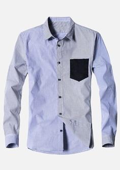 $21.79   Checkered Long Sleeve Button Down Shirt