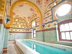 Plunge Pool: Harrogate Turkish Baths & Health Spa