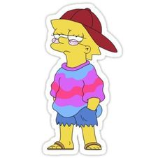Cool Lisa Sticker