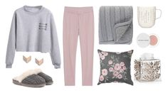Feyre inspired sick day outfit by celaenastyle on Polyvore featuring polyvore, fashion, style, Juvia, UGG, FOSSIL, Herbivore, Surya, Labrazel, iittala and clothing