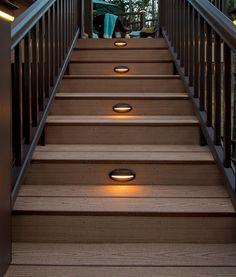 deck lighting ideas. Deck \u0026 Rail Lighting | LED Lights TimberTech Ideas