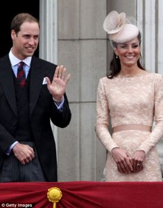Kate & Prince William at The Queen's Diamond Jubilee procession.. 5/6/12.