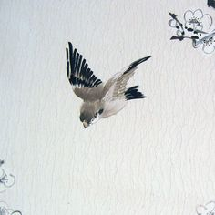 birds on a plum painting | Click to Zoom in Painting Details