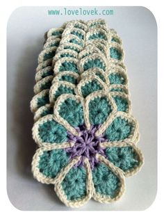 Fantastic blog, full of crochet projects