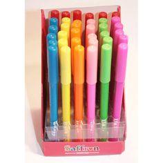 Oogpotloodjes in fluor kleuren