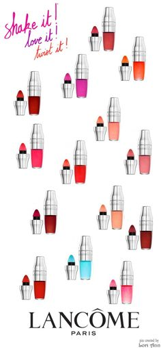 Trending Spring 2016 - Tinted Lip Oil (image features: Lancome Juicy Shakers)