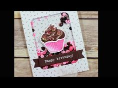 Sweet Cupcake Party Shaker Card #GDP043 - Luvin Stampin