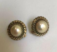 Vintage Clip Earrings Ebay Etsy