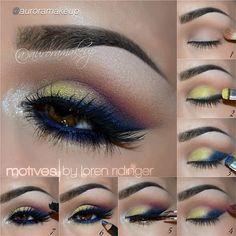 Amazing makeup tutorial by makeup artist #auroramakeup using Motives cosmetics!