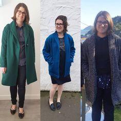 schnittchen patterns (@schnittchenpatterns) • Instagram-Fotos und -Videos Schneider, Oslo, Bomber Jacket, Sewing, Instagram, Coat, Videos, Winter, Pictures