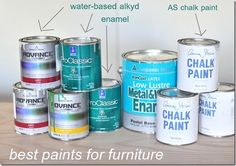 Just Paint It: How To Paint Furniture – Bloggers' Resources