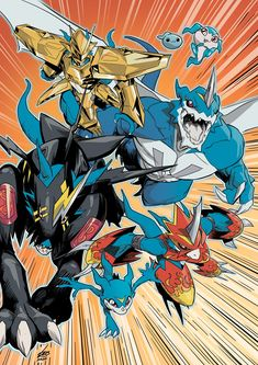 Me Anime, Manga Anime, Anime Art, Aliens, Digimon Adventure Tri., Mighty Power Rangers, Digimon Wallpaper, Character Art, Character Design