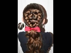 Another Valentine hairdo