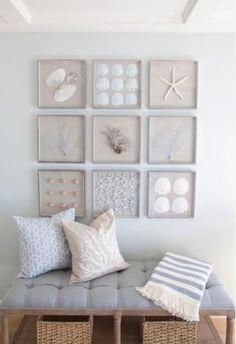 Ideias de decoração para deixar um ambiente com um ar de praia.