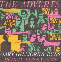 "The Adverts - Gary Gilmore's Eyes [1977, Anchor Records ANC 1043│U.K.] - 7""/45 vinyl record [PUNK]"