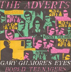 "The Adverts - Gary Gilmore's Eyes [1977, Anchor Records ‎ANC 1043│U.K.] - 7""/45 vinyl record [PUNK]"
