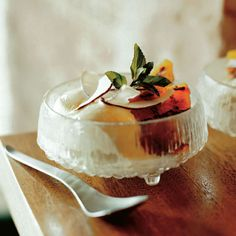 Caramelized Pineapple Sundaes with Coconut | Kerry Simon tops creamy ...