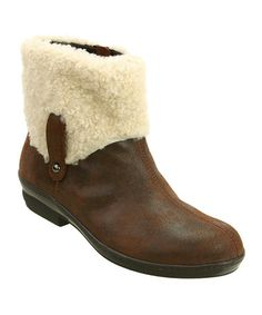 Take a look at this Brown Antique Leather Walk Boot by David Tate on #zulily today!