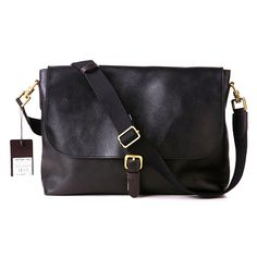 dcd11188e1ce Mulberry Men Albert Satchel Leather Messenger Bag Black