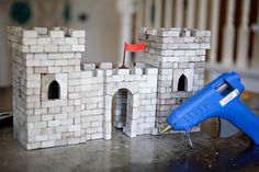 concrete fort (DIY bricks and building)