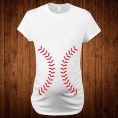 Baseball Maternity t-shirt Clothing Tops & Tees Gift by StoykoTs