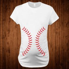 Baseball Maternity t-shirt Clothing Tops & Tees Gift by StoykoTs