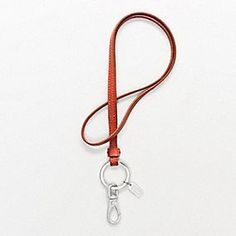 This would be a nice replacement for my original Coach key lanyard.