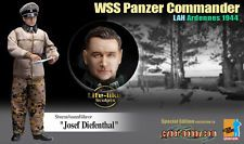 """Dragon Cyber Hobby 1/6 WSS Panzer Commander Josef Diefenthal 12"""" Action Figure"""