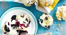 These decadent gluten-free blueberry and white chocolate scones are the perfect accompaniment for morning or afternoon tea - simply divine!
