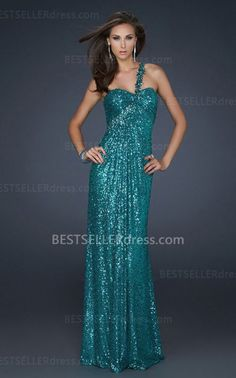 Popular Peacock Long One Shoulder Prom Dresses 2013 for Cheap [One Shoulder Prom Dresses] - $167.00 : Hot Sale | Homecoming Dresses, Prom Dresses, Formal Necktie, Classic Shoes