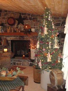 primitive+decorating+ideas | Decorating Ideas | Primitive Christmas Decorating Ideas | primitive ...