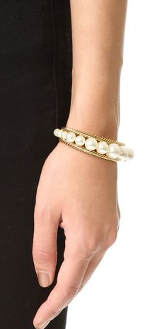 Marc Jacobs Pearl Rope Cuff Bracelet   SHOPBOP