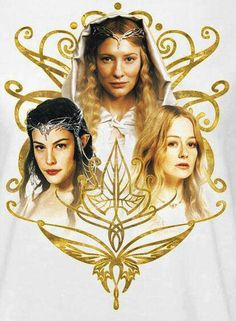 The ladies of Middle Earth. Uh huh, that's right! Galadriel, Arwen and Eowyn no creepy she-elf who's immaturely crushing on Kili!!!!!!