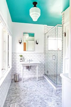 Splash Of Color - These Painted Ceilings Are Giving Us Life - Photos