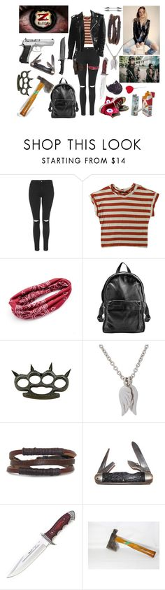 """Z NATION ""The Collector"" *Ellie Cruller*"" by eeeemmaa ❤ liked on Polyvore featuring Topshop, Humör, Mudd, Sunday Somewhere, Converse, Minor Obsessions, Gioelli, ETUÍ, Market and Handle"