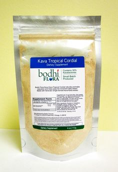 Kava Kava Root Instant Extract DRINK MIX Made in USA 100%Delicious Free Shipping #BODHIFLORA
