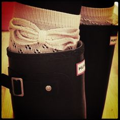 cozy boot socks.