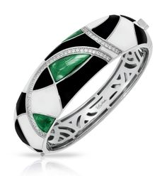 Tango emerald green bangle
