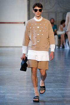 Andrea Pimpilio Menswear Spring Summer 2015 Milan Fashion Week June 2014