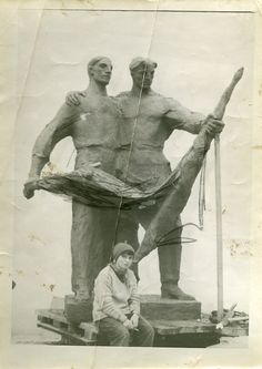 Alina Szapocznikow,  Monument to Polish-Soviet Friendship, 1954