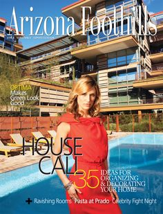 Arizona Foothills Magazine Covers