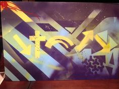Spray painted by Chris for his father, Ken.