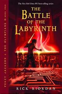 Percy Jackson and the Olympians: The Battle of the Labyrinth Book 4