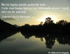 Călătorii la Singular » 9 gânduri Gabriel Garcia Marquez