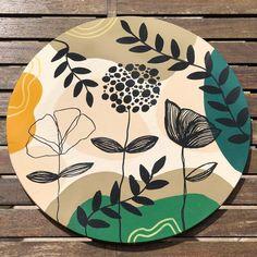Black Art Painting, Modern Art Paintings, Organic Art, Bonsai Art, Minimalist Painting, Abstract Line Art, Flower Canvas, Posca, Wooden Art