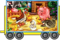 Cute Cartoon, Cartoon Art, Farm Animals, Cute Animals, Kids Story Books, Bedtime Stories, Classroom Decor, Illustration Art, Illustrations