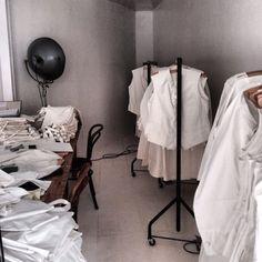 chelliswilson. Uniforms by Maureen Doherty/Egg for Spring Restaurant UK