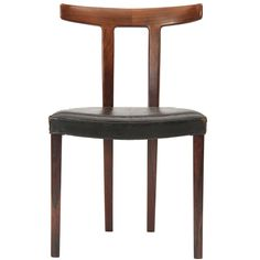 desk chair.  Rosewood Chair By Ole Wanscher